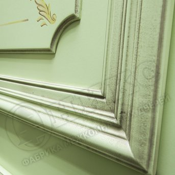 Дверь Пальмира эмаль фисташковая