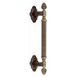 Ручка-скоба дверная Corona 0101 Матовая бронза