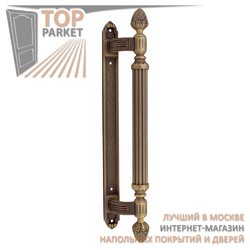 Ручка-скоба дверная Corona 0102 Матовая бронза
