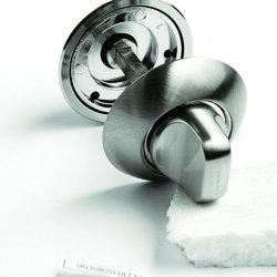 Завертка сантехническая OL H белый никель