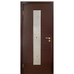 Межкомнатная дверь Оникс Плаза со стеклом