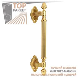 Ручка-скоба дверная Corona 0101 Полированная латунь