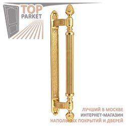 Ручка-скоба дверная Corona 0102 Полированная латунь