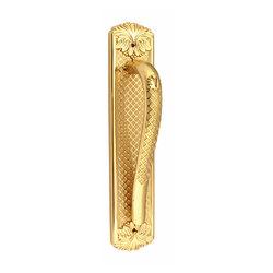 Ручка-скоба дверная Corona 0103 Полированная латунь