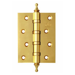 Петли дверные Corona Полированная латунь
