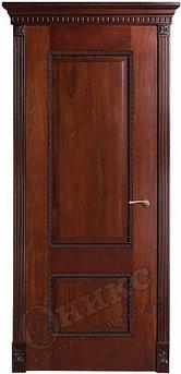 Дверь Александрия 2 Красное дерево черная патина