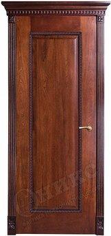 Дверь Оникс Александрия Красное дерево черня патина