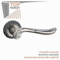 Ручка дверная на круглой накладке Antigo A-39-20 Античная бронза