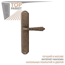 Ручка дверная на пластине Antik 130/131 Античная бронза