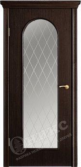 Дверь остекленная Арка 2 Венге