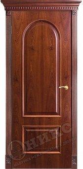 Дверь Арка Красное дерево