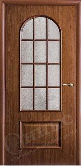 Дверь Арка Орех Решетка