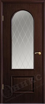 Дверь Арка Венге Гравировка Арка
