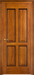 Дверь Д 15 Медовый патина орех