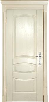 Дверь Альверо Аврора, Беленый дуб