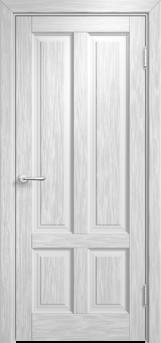 Дверь Мадера  Винтаж 15 Браш Белая эмаль