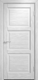 Дверь Мадера  Винтаж 17 Браш Белая эмаль