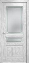 Межкомнатная дверь Мадера ДО Винтаж 5 Браш Белая эмаль