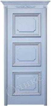 Дверь Пальмира эмаль голубая