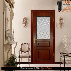 Межкомнатная дверь из массива бука Братислава 1 ДО