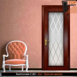 Межкомнатная дверь из массива бука Братислава 2 ДО