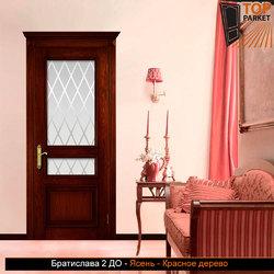 Межкомнатная дверь из массива ясеня Братислава 2 ДО