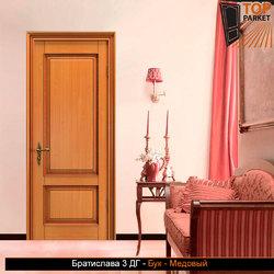 Межкомнатная дверь из массива бука Братислава 3 ДГ