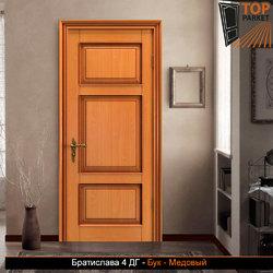 Межкомнатная дверь из массива бука Братислава 4 ДГ