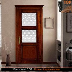Межкомнатная дверь из массива ясеня Братислава 5 ДО