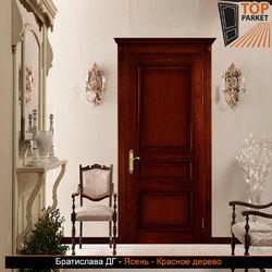 Межкомнатная дверь из массива ясеня Братислава ДГ