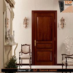 Межкомнатная дверь из массива дуба Дарина 1 ДГ