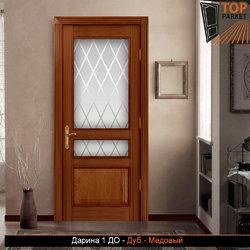 Межкомнатная дверь из массива дуба Дарина 1 ДО