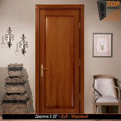 Межкомнатная дверь из массива дуба Дарина 2 ДГ