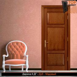 Межкомнатная дверь из массива дуба Дарина 4 ДГ