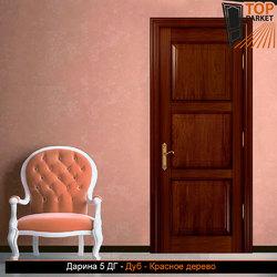 Межкомнатная дверь из массива дуба Дарина 5 ДГ