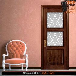 Межкомнатная дверь из массива дуба Дарина 5 ДО-2
