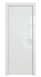 Межкомнатная дверь Дверная Линия ДГ-500 Белый Глянец кромка белая матовая