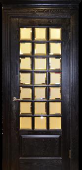 Дверь Альверо ДО  Диана, Венге серебро