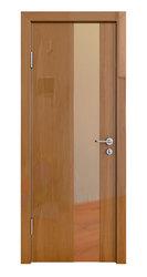 Межкомнатная дверь Дверная Линия ДО-504 Анегри тёмный зеркало бронза