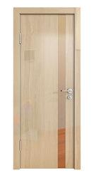 Межкомнатная дверь Дверная Линия ДО-507 Анегри светлый зеркало бронза