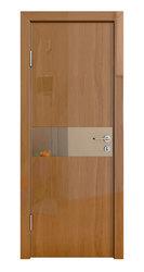Межкомнатная дверь Дверная Линия ДО-509 Анегри тёмный зеркало бронза