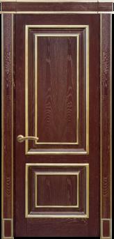Дверь Альверо Екатерина, Гранат золото