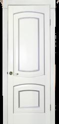 Межкомнатная дверь Альверо Елена, Иней с Серебром