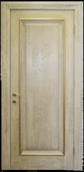 Дверь Альверо Елизавета 1, Беленый дуб браш с золотом