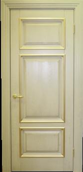 Дверь Альверо  Елизавета 4, Олива Патина Золото
