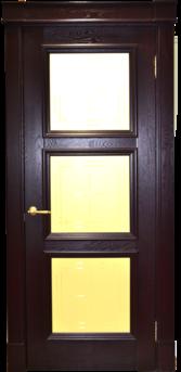 Дверь Альверо ДО Елизавета 5, Гранат Черный