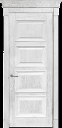Дверь Альверо ДО Елизавета 6, Белое Серебро