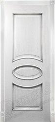 Дверь Эллипс Патина серебро