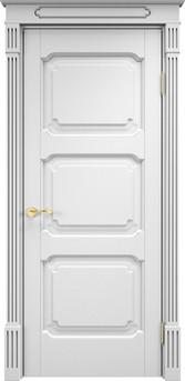 Дверь ОЛ 7.3 Белая эмальелая