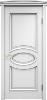Дверь ОЛ 26 Белая эмаль